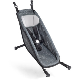 Croozer Babysæde til Kid fra 2014, graphite blue/white